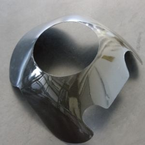 Cupolino racing carbonio con foro fanale