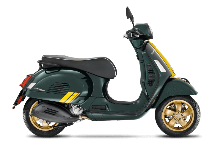 vespa gts super 300 racing sixties da guareschi moto parma
